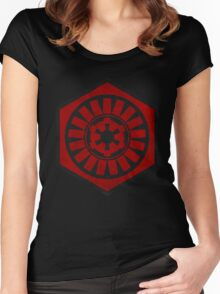 First Order and the Galactic Empire Women's Fitted Scoop T-Shirt