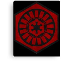First Order and the Galactic Empire Canvas Print