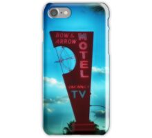Bow and Arrow Motel  iPhone Case/Skin