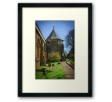 Llandaff Cathedral Framed Print