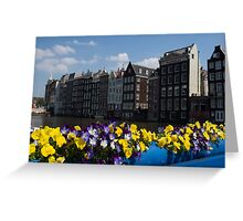 Postcard from Amsterdam Greeting Card