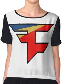 FaZe 2.0 Logo Chiffon Top