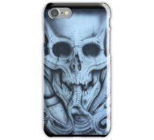 Bio Mech skull iPhone Case/Skin