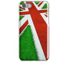UK track and field iPhone Case/Skin
