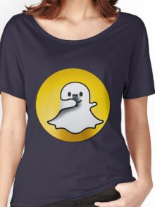 snapchat Women's Relaxed Fit T-Shirt