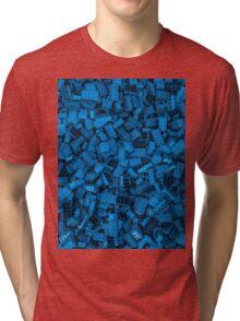 Master builder Blue Tri-blend T-Shirt