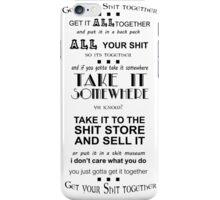 Rick and Moty iPhone Case/Skin