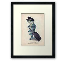 The Pilot Framed Print