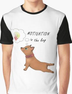Motivation is the key Graphic T-Shirt