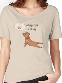 Motivation is the key Women's Relaxed Fit T-Shirt