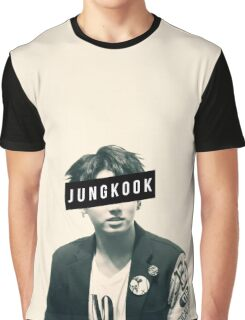 BTS JungKook Graphic T-Shirt