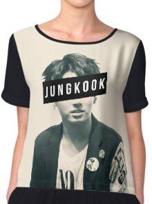 BTS JungKook Chiffon Top