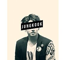 BTS JungKook Photographic Print