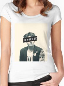 BTS JungKook Women's Fitted Scoop T-Shirt