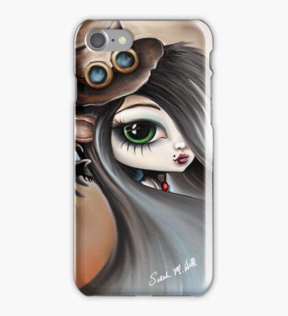 Steampunk Vampire Girl - Dark Angel iPhone Case/Skin