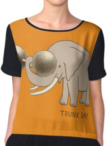 Trunk Day Chiffon Top
