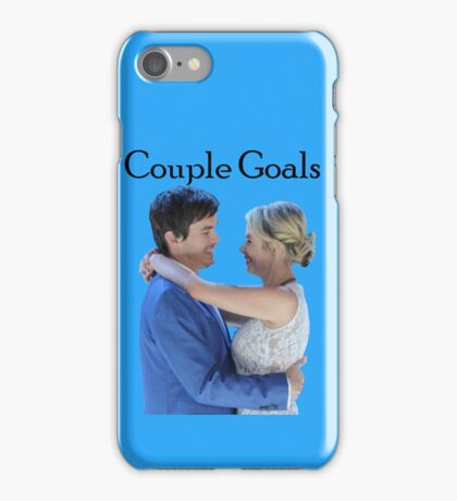 Haleb Pretty Little Liars PLL Hanna Caleb Couple Goals iPhone Case/Skin