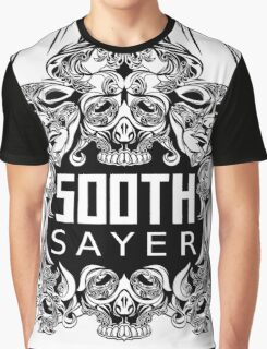 SOOTHSAYER BLACK WHITE Graphic T-Shirt