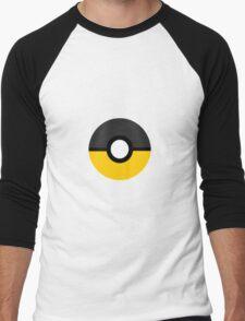 Hufflepuff Pokeball (Huffleball?) Men's Baseball ¾ T-Shirt