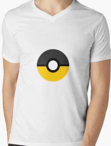 Hufflepuff Pokeball (Huffleball?) Mens V-Neck T-Shirt