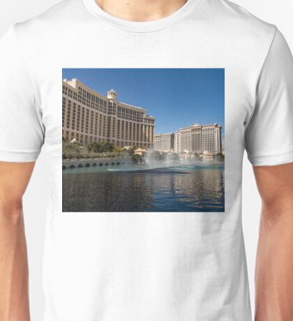 Dancing Fountains - Bellagio, Las Vegas Unisex T-Shirt
