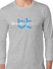 BreakingTech – Blu / Bianco (Nero) Long Sleeve T-Shirt