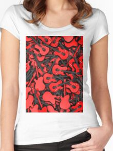 Just guitars Women's Fitted Scoop T-Shirt