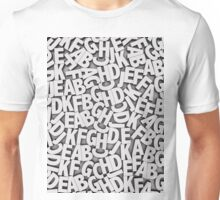 Learn the alfabet Unisex T-Shirt