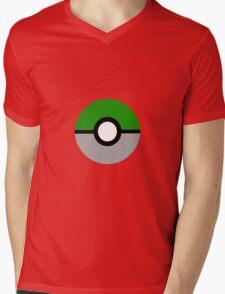 Slytherin Pokeball (Slytherball?) Mens V-Neck T-Shirt