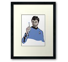 Doctor McCoy Framed Print