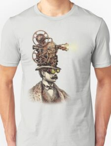 The Projectionist (sepia option) Unisex T-Shirt