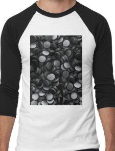 Hockey pucks Men's Baseball ¾ T-Shirt
