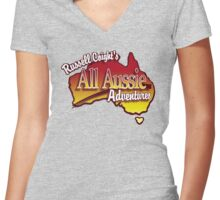 Russell Coight's Women's Fitted V-Neck T-Shirt