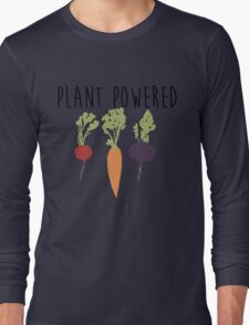 Plant Powered - Vegan Long Sleeve T-Shirt