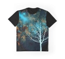 Starlight in Copper-Red and Blue Graphic T-Shirt