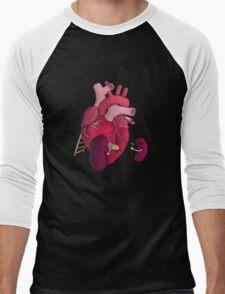 Beans, Beans, Good For Your Heart Men's Baseball ¾ T-Shirt