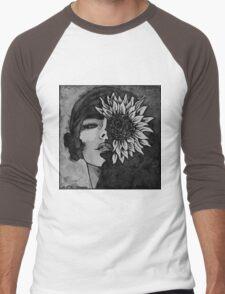Sunflower Girl Men's Baseball ¾ T-Shirt