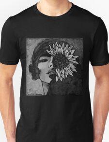 Sunflower Girl Unisex T-Shirt