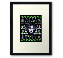 Edward Sweaterhands Framed Print