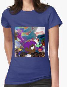 uzi vs the world Womens Fitted T-Shirt
