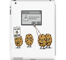 DELETE THE COOKIES iPad Case/Skin