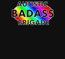 Autistic Badass Brigade - dark colored background Unisex T-Shirt