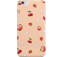 Emoji Phone Case (fruit) iPhone Case/Skin