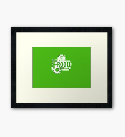 The Frood Framed Print