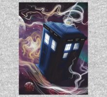 TARDIS In The Time Vortex Baby Tee