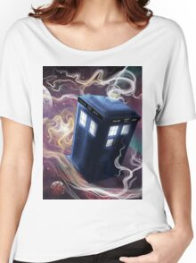 TARDIS In The Time Vortex Women's Relaxed Fit T-Shirt