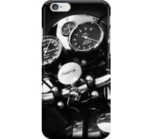 The Classic British Motorcycle iPhone Case/Skin