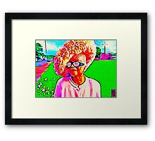 NEW CHURCH HAT Framed Print