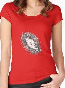 Mura masa Women's Fitted Scoop T-Shirt