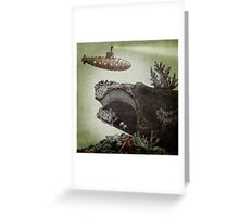 Leviathan (colour option) Greeting Card